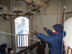 Учащиеся кадетских классов МБОУ СШ №6 г.Урюпинска посетили воскресную Божественную литургию в Покровском Кафедральном соборе
