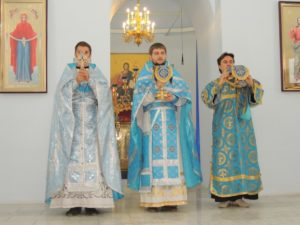 Празднование двунадесятого праздника Успения Пресвятой Владычицы нашей Богородицы и Приснодевы Марии