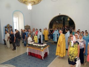 В канун праздника Успения Пресвятой Богородицы