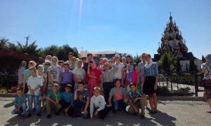Закрытие пятого православного детского лагеря «Похвало Урюпинская»