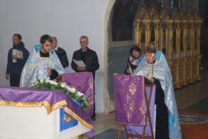 Вечернее богослужение с чтением акафиста Урюпинской иконе Божией Матери